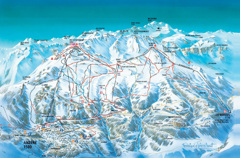 Anzere_ski_map