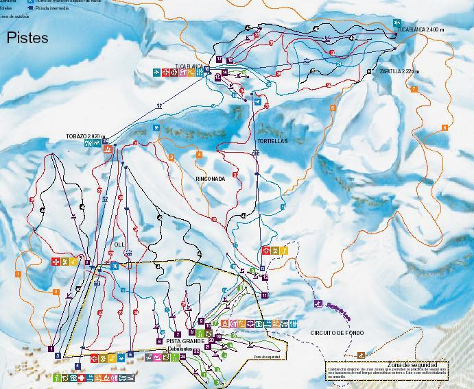 Candanchu_ski_map