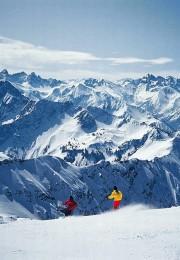 горнолыжный курорт Оберстдорф