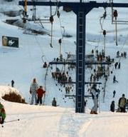 горнолыжный курорт Волен