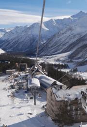 горнолыжный курорт Эльбрус Азау