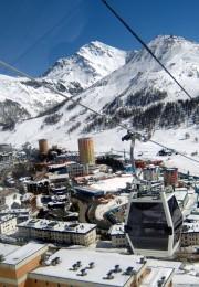 горнолыжный курорт Сестриере