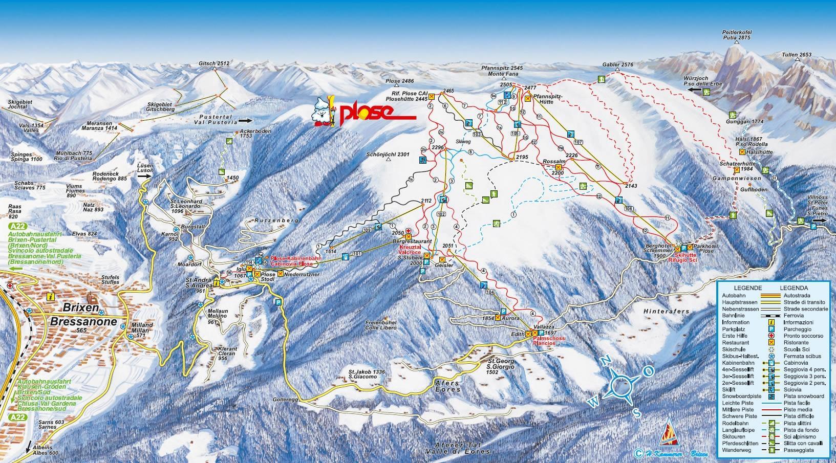 685-map-plose-brixen--plose-bressano
