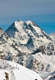горнолыжный курорт Три Долины