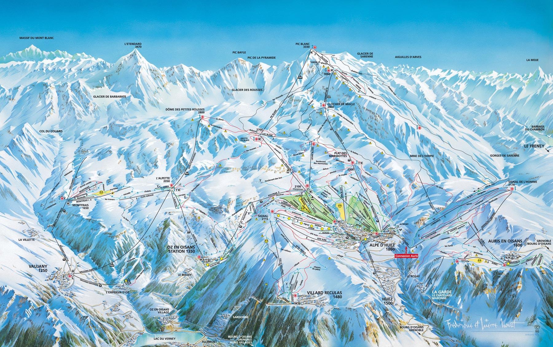 alpes-d-hues-ski-map