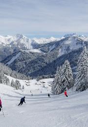 горнолыжный курорт Сен Жан де Альпс