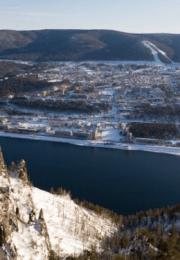 горнолыжный курорт Дивногорск